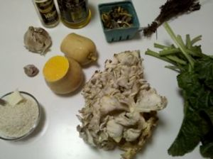 Six Nations Risotto ingredients